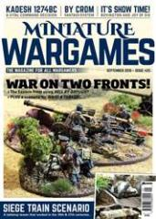 "#425 ""War on Two Fronts, Siege Train Scenario, Send Three and Fourpence"""