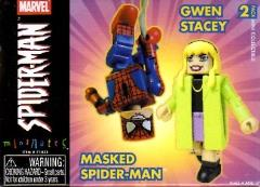 Masked Spider-Man & Gwen Stacey