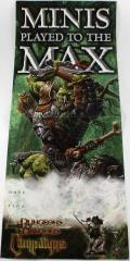 Promo Poster - Minis Played to the Max w/War Troll