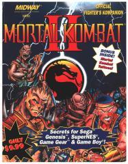 Mortal Kombat II - Official Fighter's Kompanion