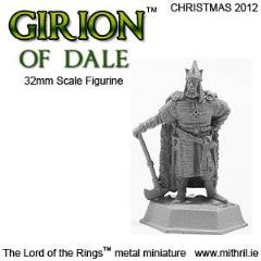 Girion of Dale (2012 Christmas Exclusive)