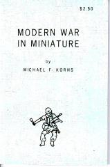 Modern War in Miniature