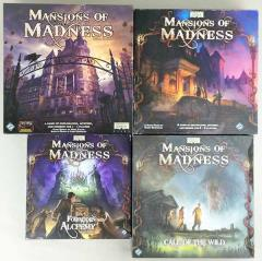 Mansions of Madness Collection #2 - 2 Base Games + 2 Expansions!