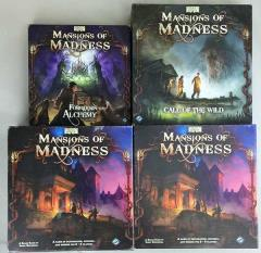 Mansions of Madness 1st Edition Collection #5 - Base Games + 2 Expansions w/Painted + Primed Figures!
