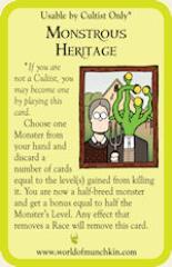 Munchkin Cthulhu - Monstrous Heritage