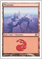 Mountain #344 (C) (Foil)