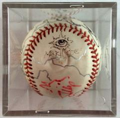 Magic Artists Autographed Baseball