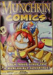 Munchkin Comics Promo Poster - Flower