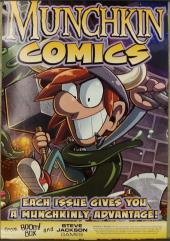 Munchkin Comics Promo Poster - Spyke