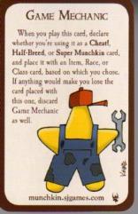 Munchkin - Game Mechanic