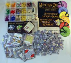 Munchkin Quest - The Munchkin Boardgame Collection - Base Game + 2 Expansions!