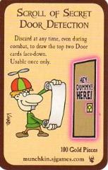 Munchkin - Scroll of Secret Door Detection