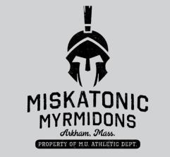 Miskatonic Myrmidons Pullover Sweatshirt (L)