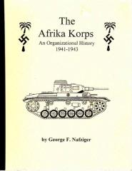 Afrika Korps, The - An Organizational History