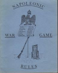 Napoleonic War Game Rules