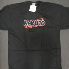 Naruto T-Shirt - Black & Red (XL)
