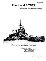 """#7 """"Harpoon Scenario - Sea of Fire, Part 2"""""""