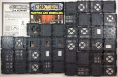 Necromunda - Unpunched Tiles & Plastic Walls