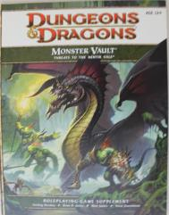 Monster Vault - Threats to the Nentir Vale - Book Only!