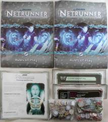 Android Netrunner Collection - Base Game + Expansion & 200+ Additional Cards!