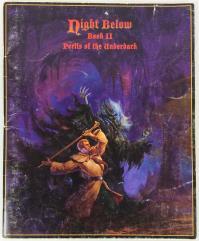 Night Below - Book II, Perils of the Underdark