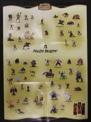 Night Below Promo Poster w/Drow Outpost Battlemat