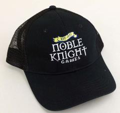 Noble Knight Trucker Style Hat - Black
