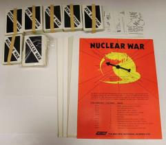 Nuclear War Collection #4 - Base Game + 3 Expansions!