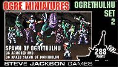 Ogrethulhu Set #2 - Spawn of Ogrethulhu