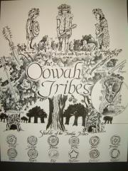 "C - Oohwah Tribes - 11"" x 13"" Original Ink"