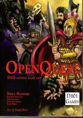 OpenQuest - d100 Gaming Made Easy