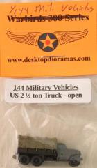 US- 2 1/2 Ton Truck, Open