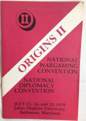 1976 Origins II Program