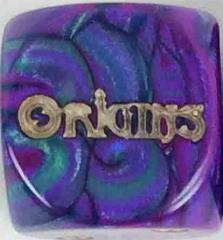 Origins Promo Die - Purple & Green w/Gold