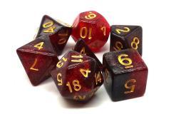 Red & Black w/Gold (7)