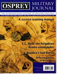 "Vol. 3, #5 ""Boudica's Last Battle, A Mamluk Training Manual, Hollywood Heroes of WWI"""