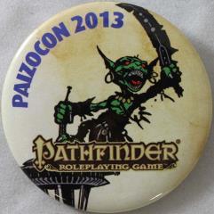 Paizocon 2013 Button