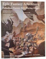 Palladium Fantasy Advertisment Poster - Epic Adventure