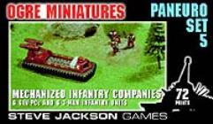 Paneuro Set #5 - Mechanized Infantry Companies