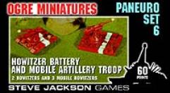 Paneuro Set #6 - Howitzer Battery & Mobile Artillery Troop