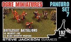 Paneuro Set #7 - Battlesuit Battalions