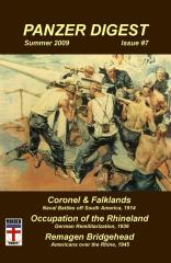 #7 w/Coronel & Falklands, Occupation of the Rhineland & Remagen Bridgehead