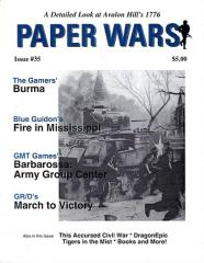 "#35 ""Burma, Fire in Mississippi, Army Group Center"""