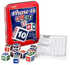 Phase 10 Dice (Metal Tin Edition)