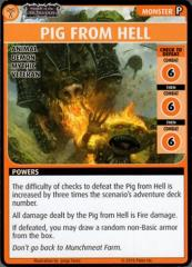 Wrath of the Righteous Promo Card - Pig from Hell
