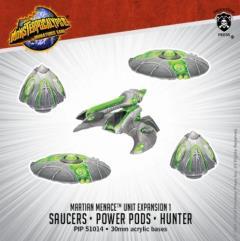 Saucers, Power Pods & Hunter