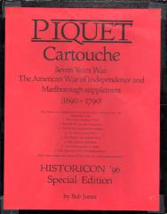 Piquet Cartouche w/Master Rules (Historicon '96 Special Edition)