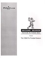 1956 Pro Football Season
