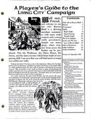 Player's Guide to the Living City Campaign, The (Version 2.0) (RPGA)