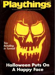 "Vol. 94, #3 ""Toy Retailing in Turmoil, Halloween Puts on a Happy Face"""